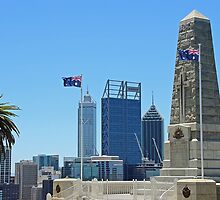 State War Memorial - Perth - WA by Colin  Williams Photography