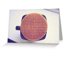 Stroopwafel Greeting Card