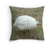 The Hunchback of Chickenville Throw Pillow