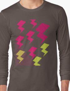 Struck by lightning Long Sleeve T-Shirt