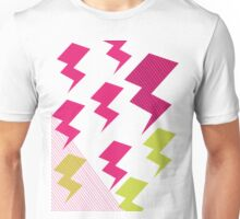 Struck by lightning Unisex T-Shirt