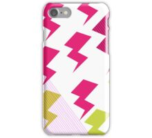 Struck by lightning iPhone Case/Skin