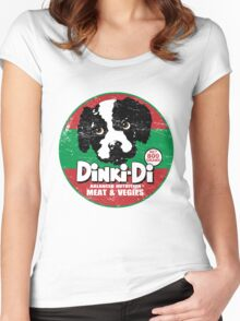 Dinki Di Dog Food Women's Fitted Scoop T-Shirt