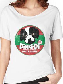 Dinki Di Dog Food Women's Relaxed Fit T-Shirt