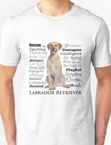 Yellow Lab Traits T-Shirt