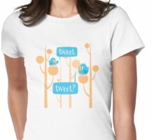 Tweet Womens Fitted T-Shirt