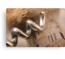 Cork screw Metal Print