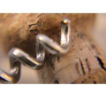 Cork screw Photographic Print
