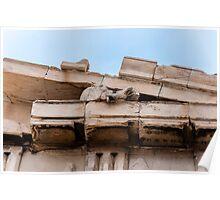 Parthenon pediment horses Poster