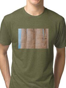Parthenon columns Tri-blend T-Shirt