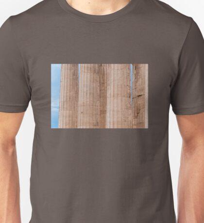 Parthenon columns Unisex T-Shirt