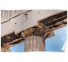 Parthenon column Poster