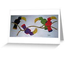 Community Stick Greeting Card