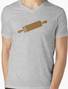 Rolling pin Mens V-Neck T-Shirt