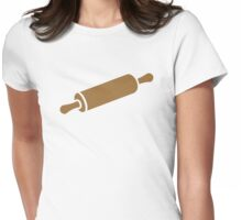 Rolling pin Womens Fitted T-Shirt