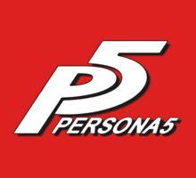 HD Persona 5 Logo by marcello505