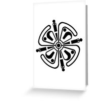 Haven Tv Tattoo Greeting Card
