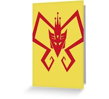 Venture Bros and Transformers Greeting Card