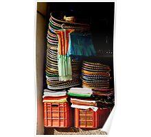 Sombrero Pile Poster