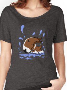 Bull Terrier Splash  Women's Relaxed Fit T-Shirt