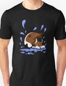 Bull Terrier Splash  Unisex T-Shirt