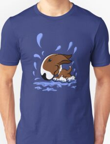 Bull Terrier Splash  Unisex T-Shirt