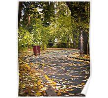 Autumn alley_01 Poster