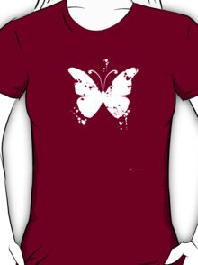 Butterfly silhouette grunge T-Shirt