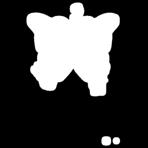 Butterfly silhouette grunge by Kudryashka