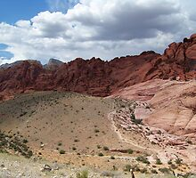 Red Rock Mountains by Rita  H. Ireland