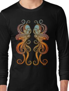 Mono Octopus (duo) #1 Long Sleeve T-Shirt