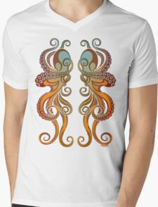 Mono Octopus (duo) #1 Mens V-Neck T-Shirt