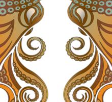 Mono Octopus (duo) #1 Sticker