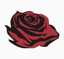 Rose bloom One Piece - Short Sleeve