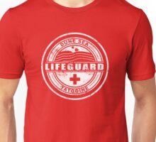 Dune Sea Lifeguard [White Distressed] Unisex T-Shirt