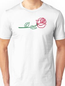 Rose flower Unisex T-Shirt