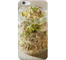 Many cereal sprouts growing iPhone Case/Skin