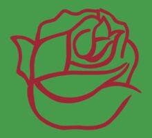 Rose bloom Kids Tee