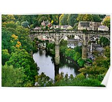 """Bridge over the River Nidd"" Poster"