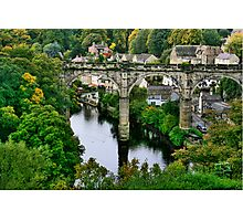 """Bridge over the River Nidd"" Photographic Print"