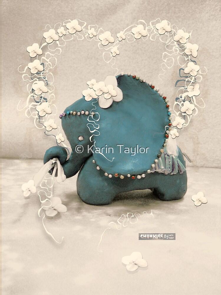 CHUNKIE Elephant by © Karin Taylor