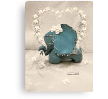 CHUNKIE Elephant Canvas Print
