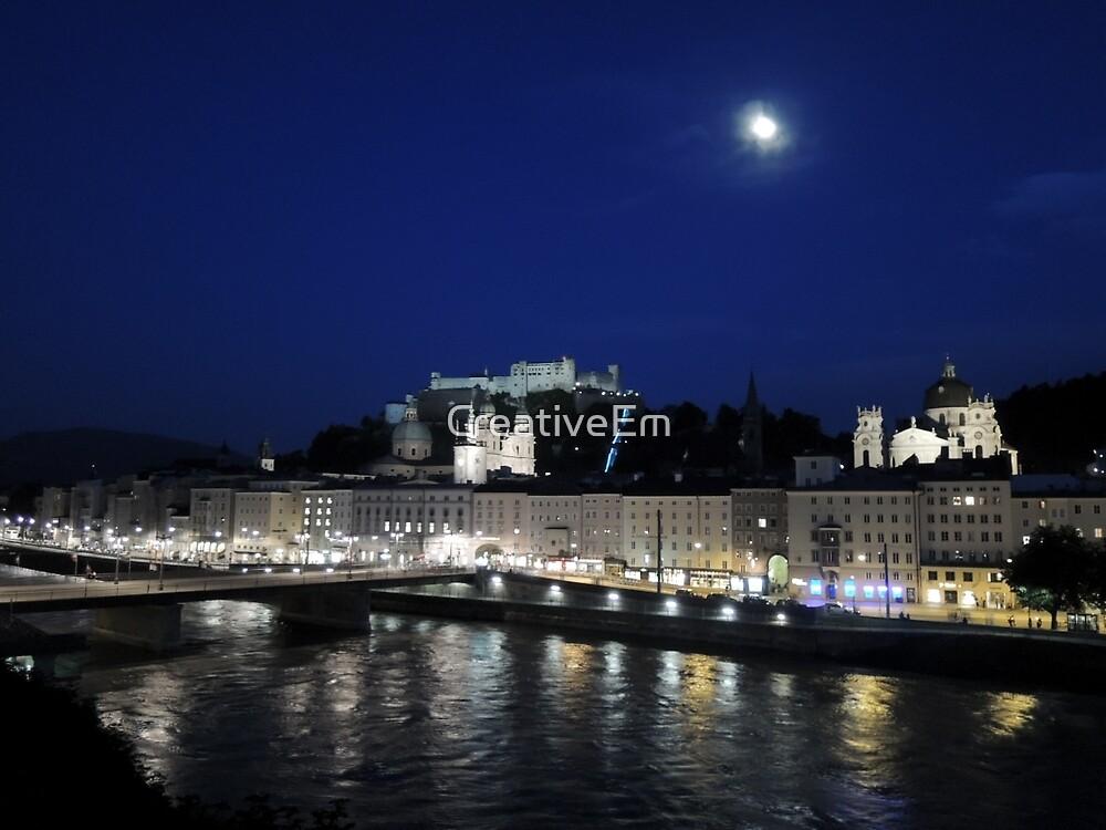 Salzburg Nightscape by CreativeEm