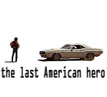 Vanishing Point - The Last American Hero  Photographic Print