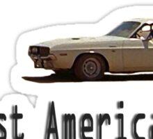 Vanishing Point - The Last American Hero  Sticker