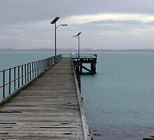 Pier, South Australia by Claye Herdman