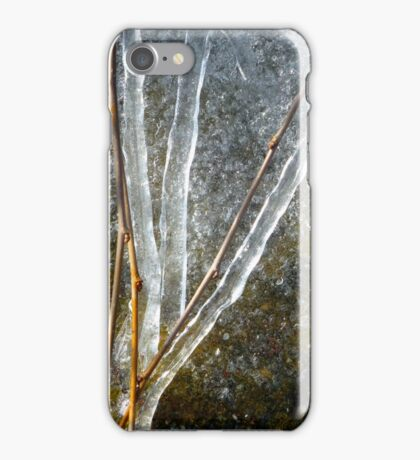 Ice Sculpture Abstract iPhone Case/Skin
