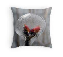 Lilac Bubble Throw Pillow