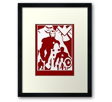 Assemble and Avenge Framed Print