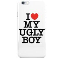 Die Antwoord - I Love My Ugly Boy (black) iPhone Case/Skin
